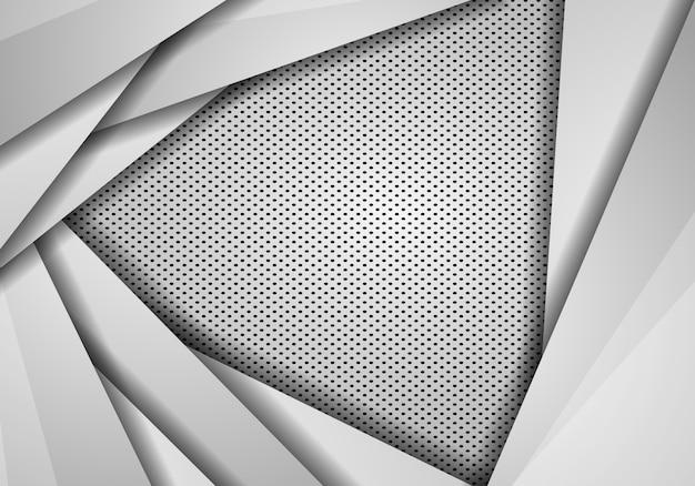 Abstrakte hintergrundüberlappung mit punktbeschaffenheit