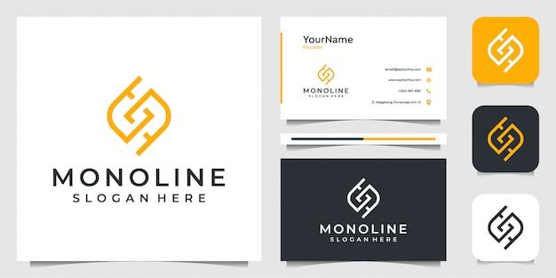 Abstrakte illustrationsgrafik. gut für business, werbung, plan, technologie, internet und visitenkarte