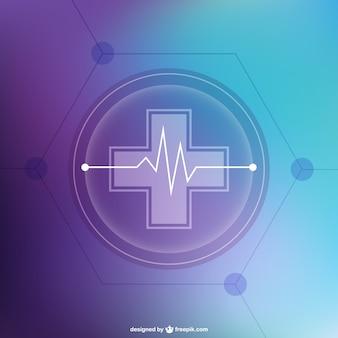 Abstrakte kostenlose medizinische hintergrund