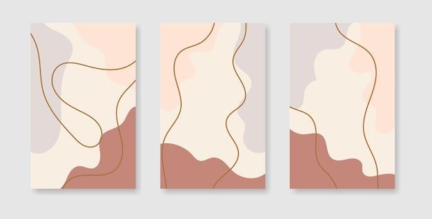 Abstrakte kreative cover-design-vorlagen für social-media-geschichten