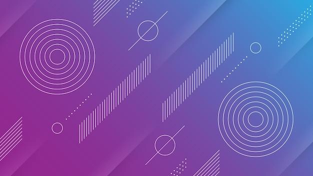Abstrakte kunst hintergrund blaue farbe design diagonal digital dynamisch ecommerce futuristisch geometrisch gradient grafik illustration linie moderne pop art lila reaktionsschnell wissenschaft weich