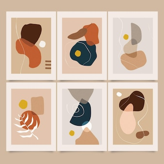 Abstrakte kunstabdeckungssammlung