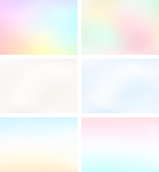 Abstrakte landschaft des unschärfe-licht-steigungs-hintergrund-gesetzten a4