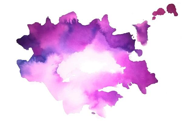 Abstrakte lila handgemalte aquarellbeschaffenheit