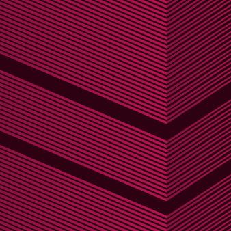 Abstrakte linie rotem hintergrund