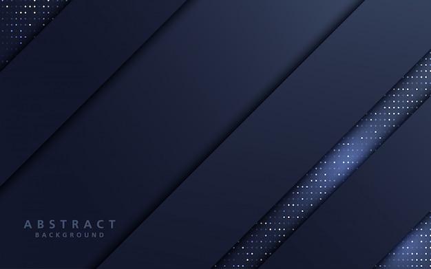 Abstrakte linie schicht überlappung hintergrund mit glitzern.