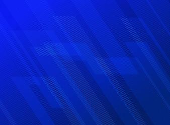 Abstrakte Linien kopieren blauen Hintergrund.