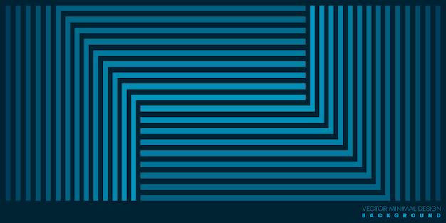 Abstrakte linien musterhintergrundschablone