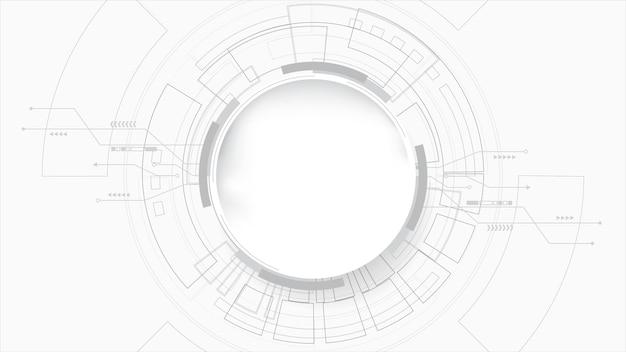 Abstrakte linien und punkte verbinden den hintergrund. technologieverbindung digitales daten- und big-data-konzept.