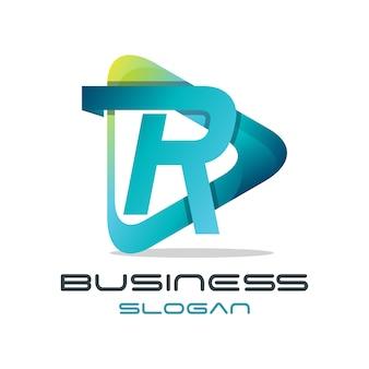 Abstrakte logo-vorlagen sammlung
