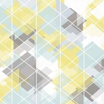 Abstrakte Low-Poly-Design