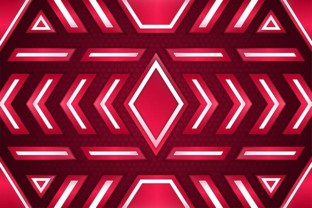 Abstrakte luxuriöse weiße und rosafarbene hintergrundüberlappungsschicht auf hellem raum mit sechseckmustern
