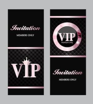 Abstrakte luxus vip members only karte