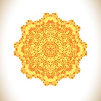 Abstrakte mandala-illustration