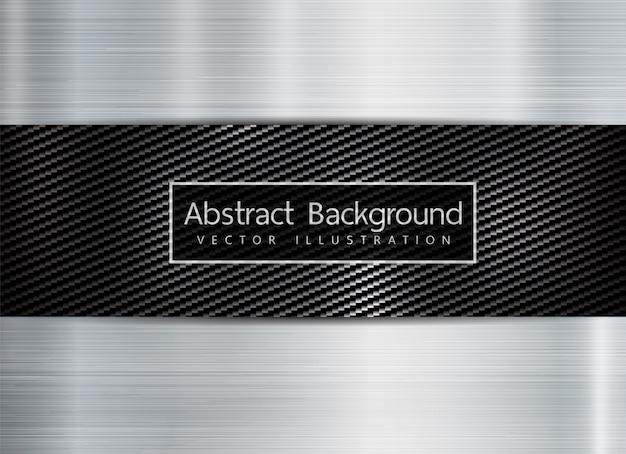 Abstrakte metallische rahmenkohlenstoff kevlabeschaffenheit auf metallbeschaffenheit backgroun. exemplar für text.