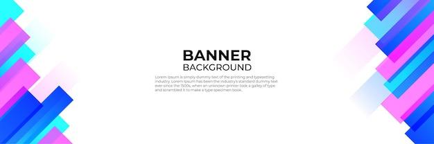 Abstrakte moderne blaue technologie banner design web template set. horizontales header-webbanner. vektor abstrakte grafik-design-banner-muster-hintergrund-vorlage.
