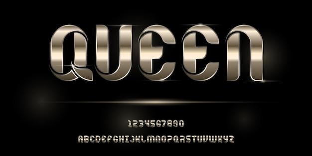 Abstrakte moderne futuristische alphabetschrift. typografie urban urban fonts für technologie, digital, film logo design