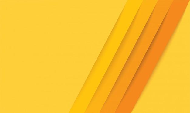 Abstrakte moderne gelbe linien hintergrund