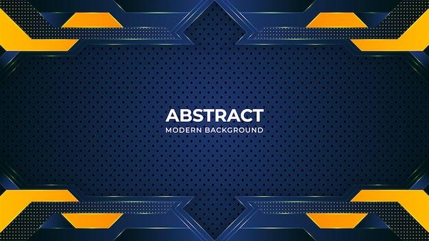 Abstrakte moderne hintergrundschablone mit geometrischen formen
