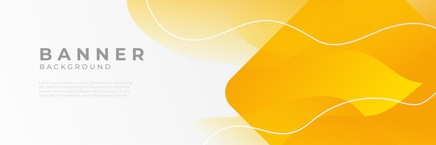 Abstrakte moderne orange horizontale webfahnendesignschablonenhintergründe