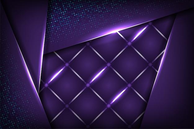 Abstrakte moderne und dynamische art 3d der geometrischen hintergrundschablone