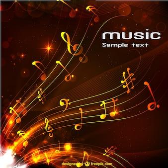 Abstrakte musik hintergrund kostenlos zum download