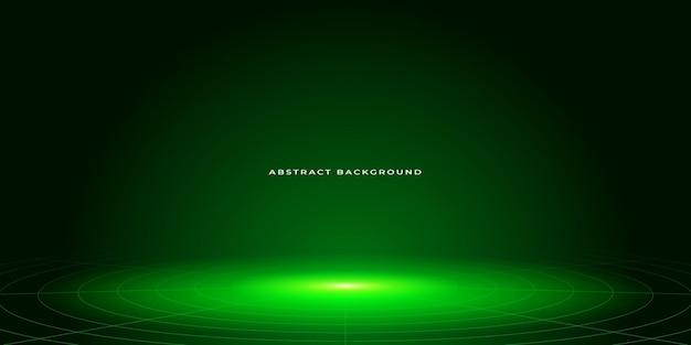 Abstrakte neongrüne hintergrunddesignvorlage