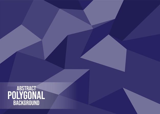 Abstrakte polygon-hintergrund-vektor-kunst-illustration