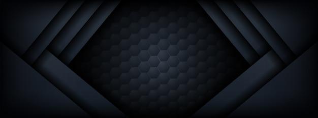 Abstrakte premium dunkel mit overlay ebenen hintergrund