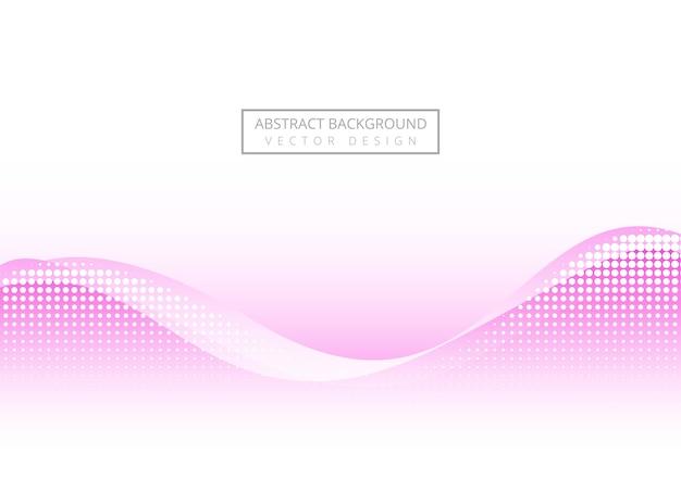 Abstrakte rosa welle