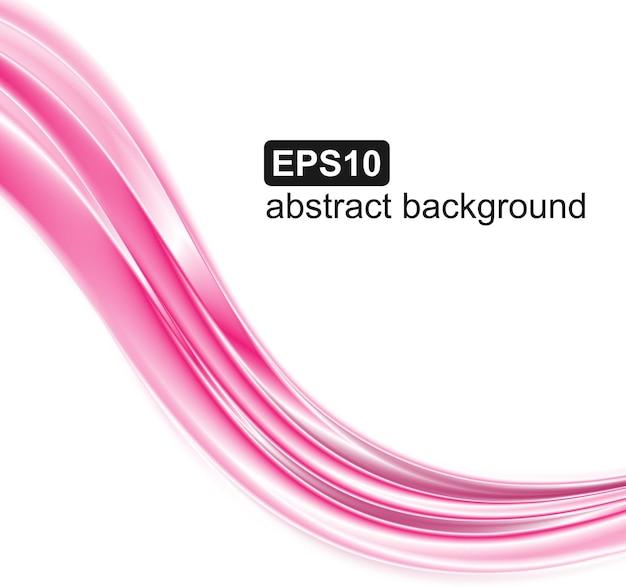 Abstrakte rosa wellen