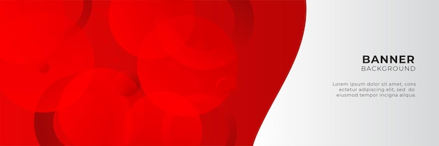 Abstrakte rote banner-hintergrund-design-vorlage-vektor-illustration mit 3d-überlappungsschicht und geometrischen wellenformen. polygonaler abstrakter hintergrund, textur, anzeigenlayout und webseite