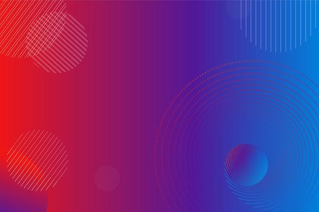 Abstrakte rote und blaue helle textur für designer-hintergrund raumkonzept bunte wand
