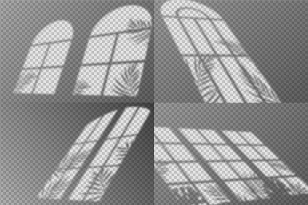 Abstrakte schatten überlagern effektdesign