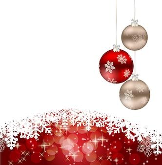 Abstrakte schönheit weihnachten und neujahr hintergrund
