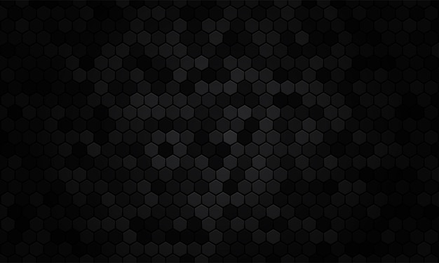 Abstrakte schwarze textur hintergrund sechseck