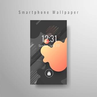 Abstrakte smartphone-tapete