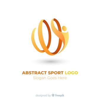 Abstrakte Sport Logo Vorlage