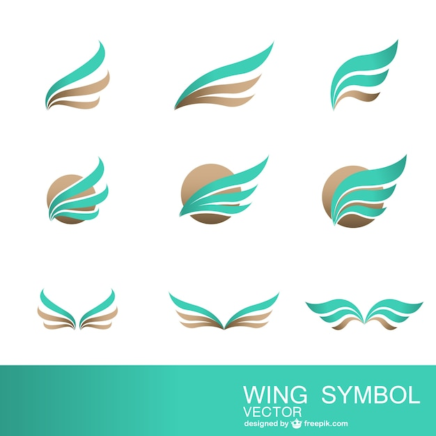 Abstrakte symbole sammlung