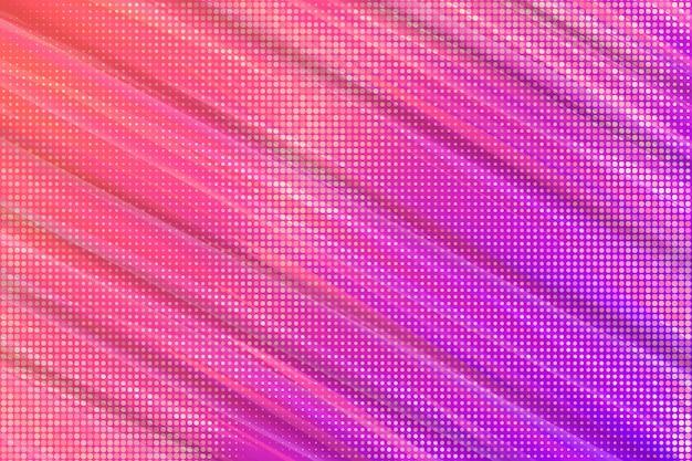 Abstrakte tapete mit halbton-effekt