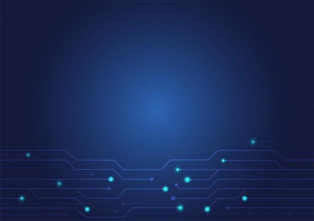 Abstrakte technologie-beschaffenheitsleiterplatte