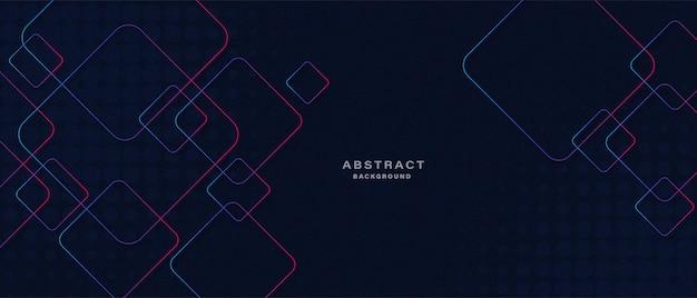 Abstrakte technologie mit leuchtenden linien hintergrund