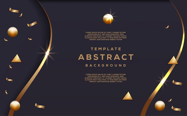 Abstrakte technologie und futuristisch mit steigungs-geometrischem hintergrund