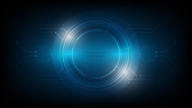 Abstrakte technologie