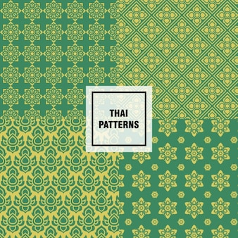Abstrakte thai muster design