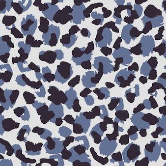 Abstrakte tierpelztapete. nahtlose musterbeschaffenheit der leopardhaut.