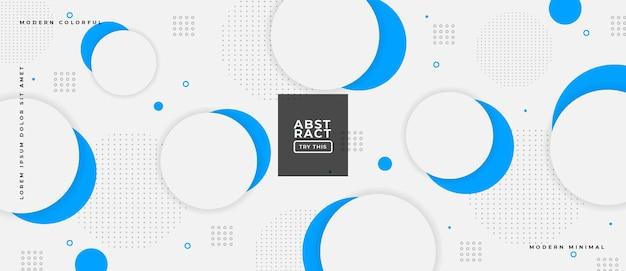 Abstrakte trendy-objekte mit geometrischem farbverlauf