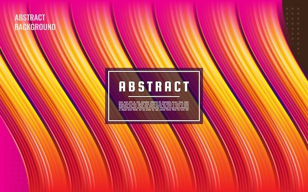 Abstrakte tropfenflüssigkeit der steigung 3d rosa, abstrakte rosa flüssige flussbeschaffenheit