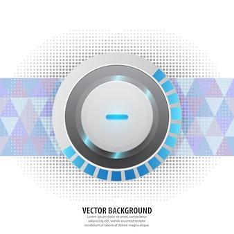 Abstrakte vektorhintergrund-konzepttechnologie