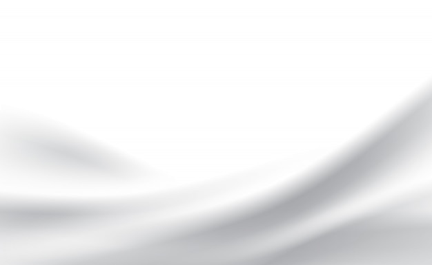 Abstrakte weiße moderne formlinie kurvenhintergrund